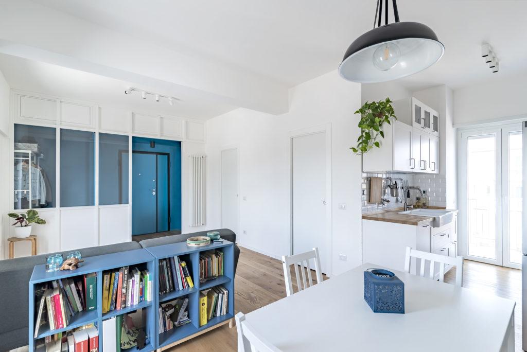 Progetto a cura di caleidoscopioarchitettura - Ristrutturazione appartamento di 50 mq a Roma