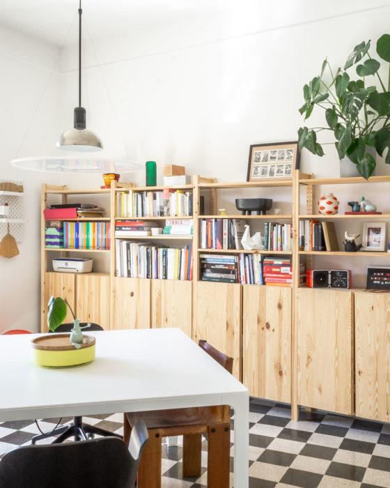 Arredare casa con il colore. Una casa per due creativi