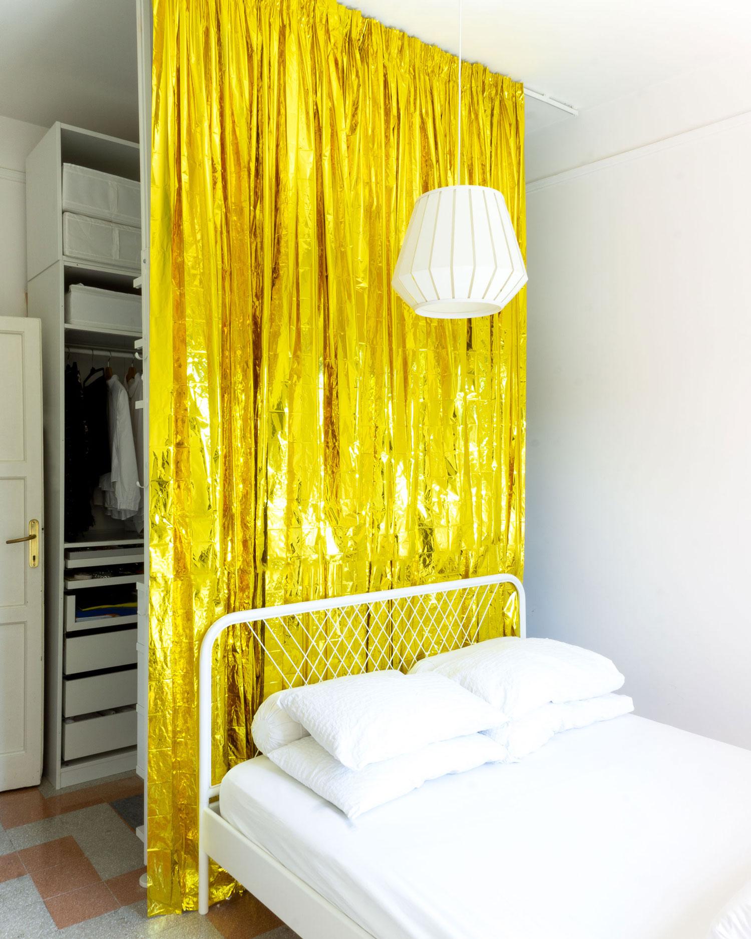 Arredare con il colore una casa per due creativi