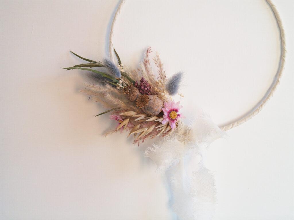 Composizioni di fiori secchi: un regalo che dura per sempre